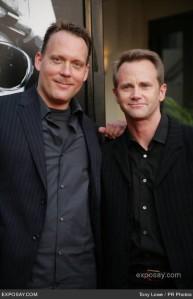 Evan Wright and Lee Tergesen