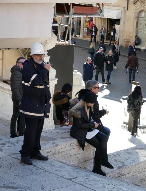Polisen och hans pipa.